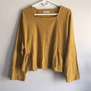 Madewell square-neck top!